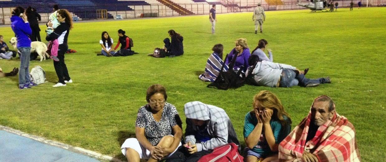 Image: TOPSHOTS-CHILE-EARTHQUAKE