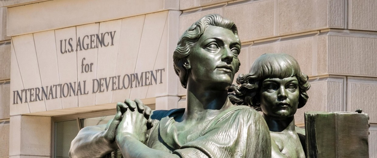 Image: The headquarters for the U.S. Agency for International Development (USAID) in Washington