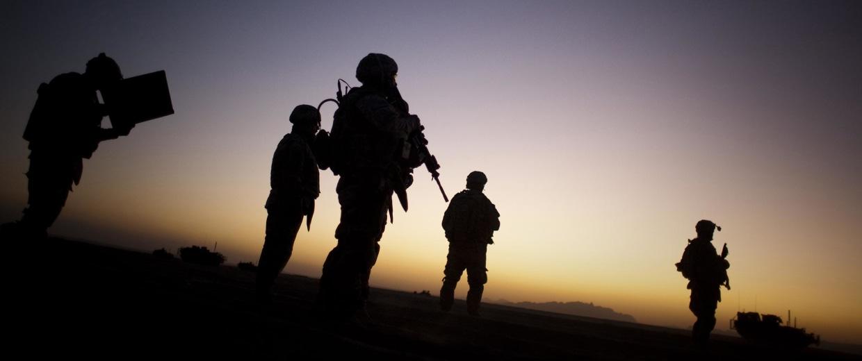 Image: U.S. soldiers patrol in Afghanistan