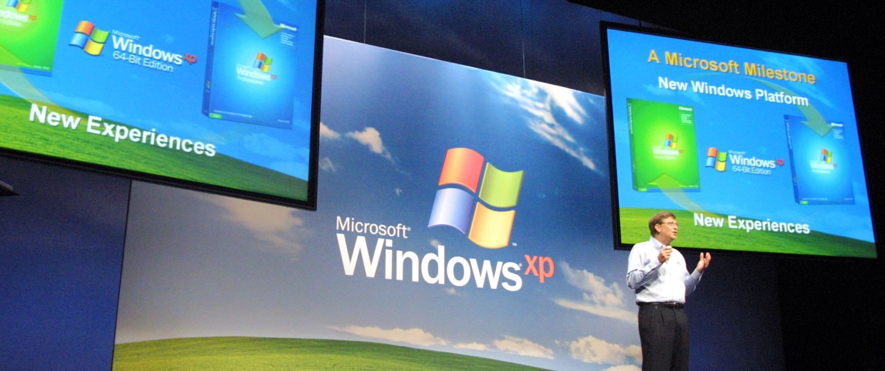 Gates Unveils Windows XP