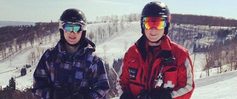 Image: Carter, left, and Jared Boger.