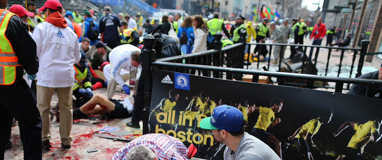 Image: Sydney Corcoran, a victim of the Boston Marathon bombing
