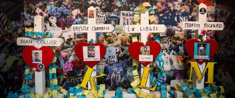 Image: Boston Prepares To Commemorate Year Anniversary Of Marathon Bombing
