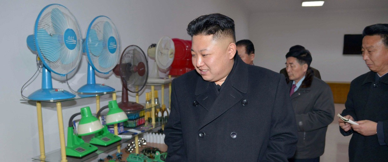 Image: Kim Jong Un in photo released on March 3