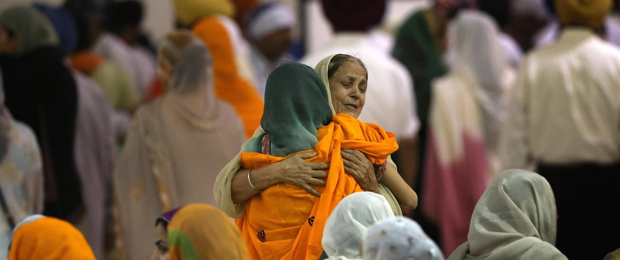 Wisconsin Community Pays Respects To Sikhs Killed In Shooting Rampage