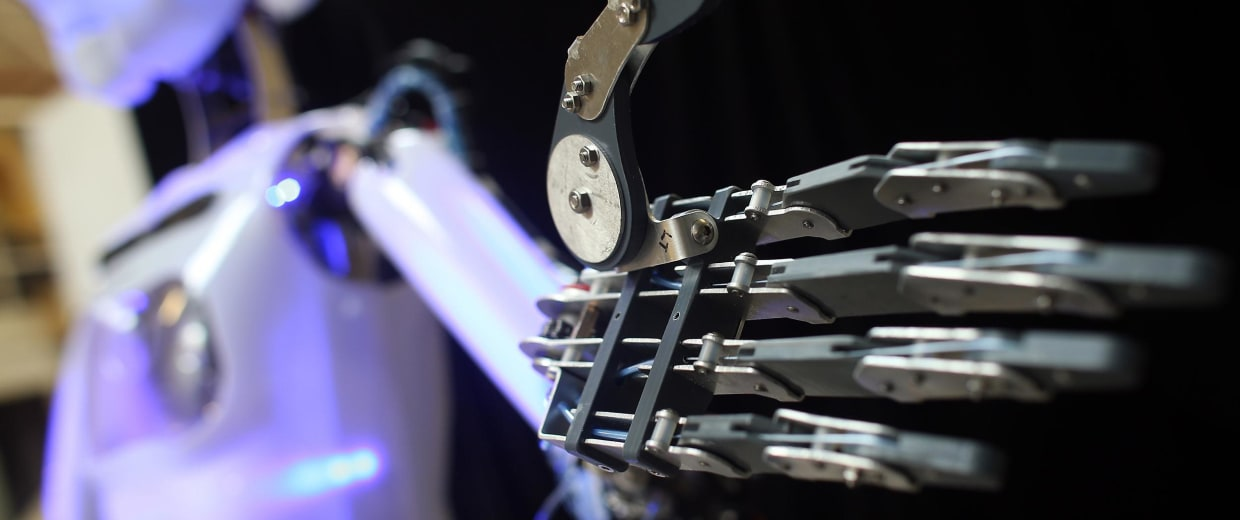 Inside The Workshops Of The World's Only Commercially Available Full Size Robot Maker