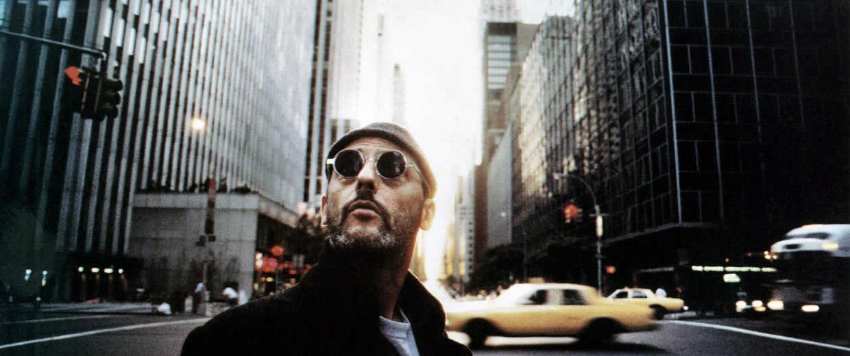 Image: Jean Reno plays Léon in a scene from the 1994 film 'The Professional'.