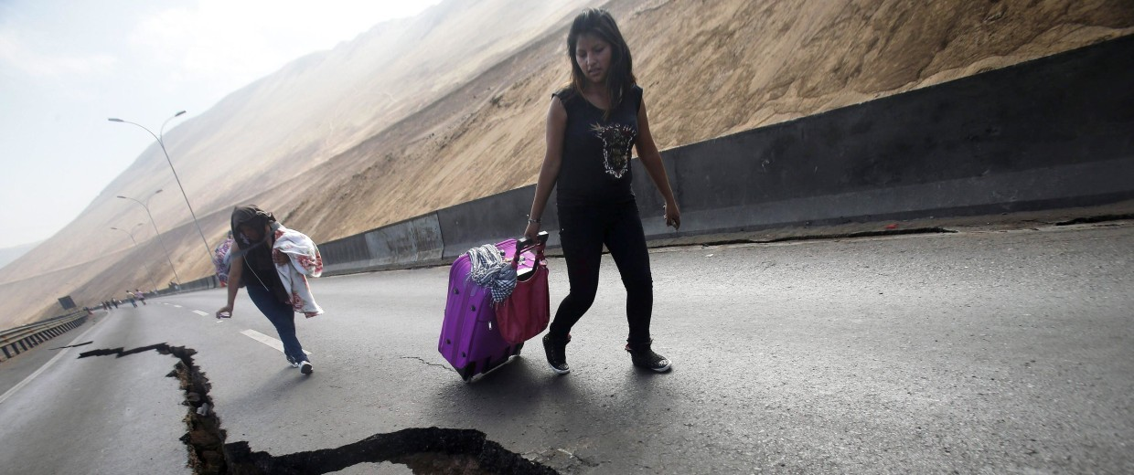 Image: EARTHQUAKE AFTERMATH IN IQUIQUE