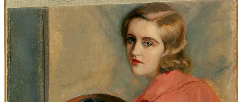 Image: A self-portrait of Huguette Clark
