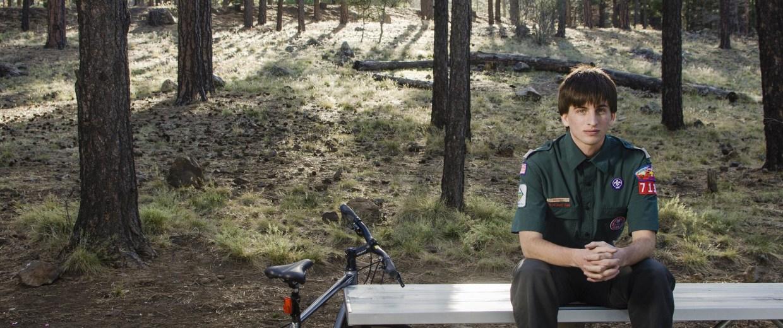 "Image: Garrett Bryant, member of The Boy Scouts high adventure ""Venturing"" program"