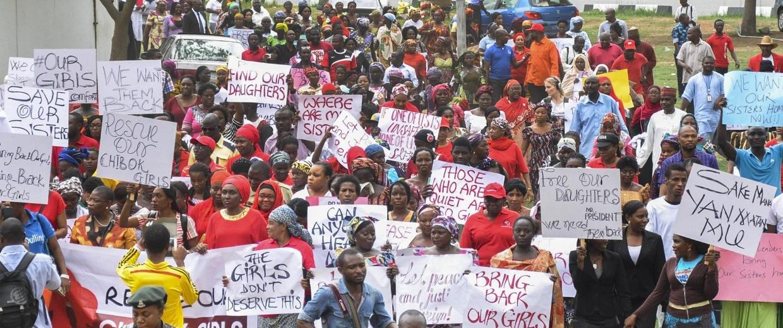 Image: Million woman march in Abuja, Nigeria