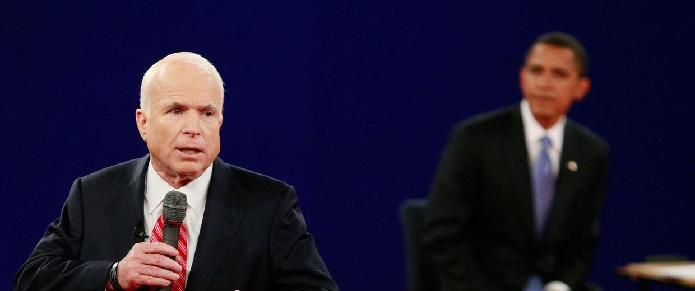 Image: McCain And Obama Spar In Second Presidential Debate