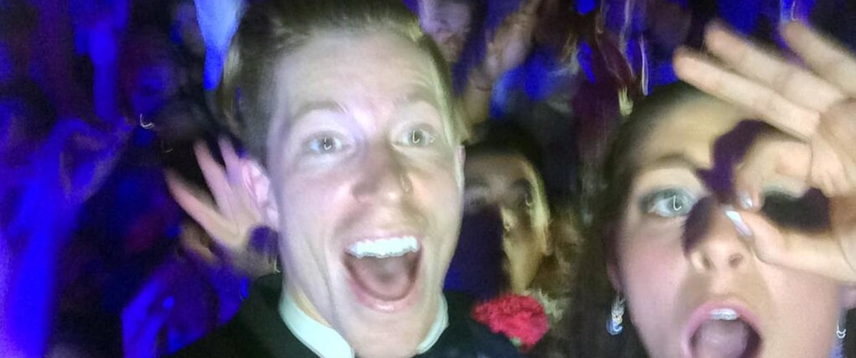 Shaun White at prom