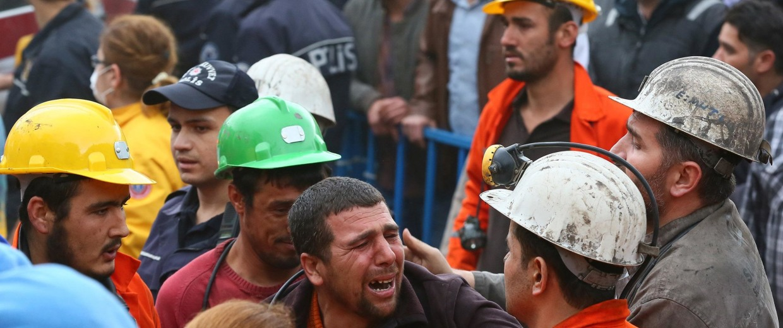 Image: Coal mine fire in Turkey