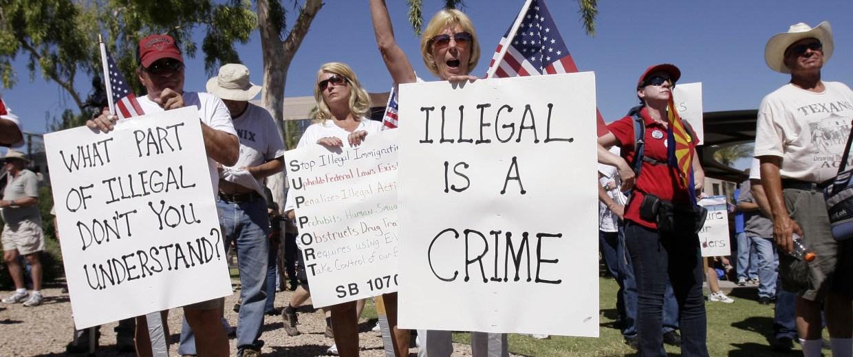 Image: Protest in Glendale, Ariz.