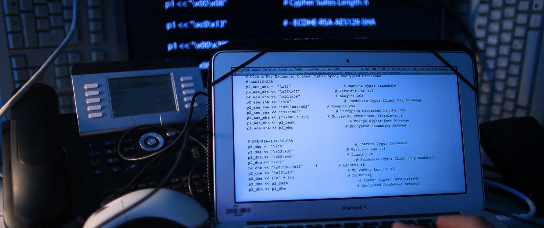 Image: Computer hacking
