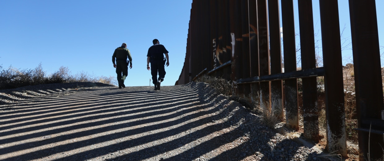 Image: BESTPIX  Homeland Security Agencies Work To Secure U.S.-Mexico Border In Arizona
