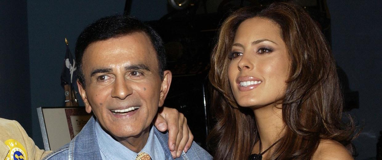 Image: Radio personality Casey Kasem and his daughter Kerri