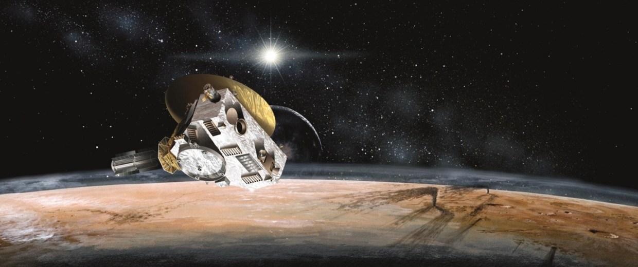 Kerberos Moon Of Plluto: Life After Pluto: New Horizons Could Carry Your Message To