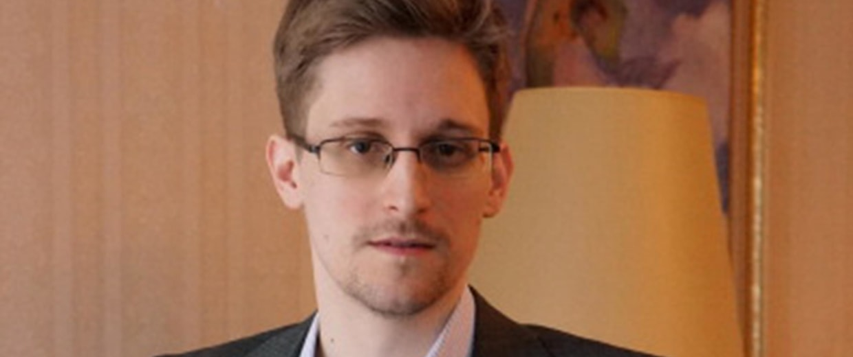 Image: Former intelligence contractor Edward Snowden