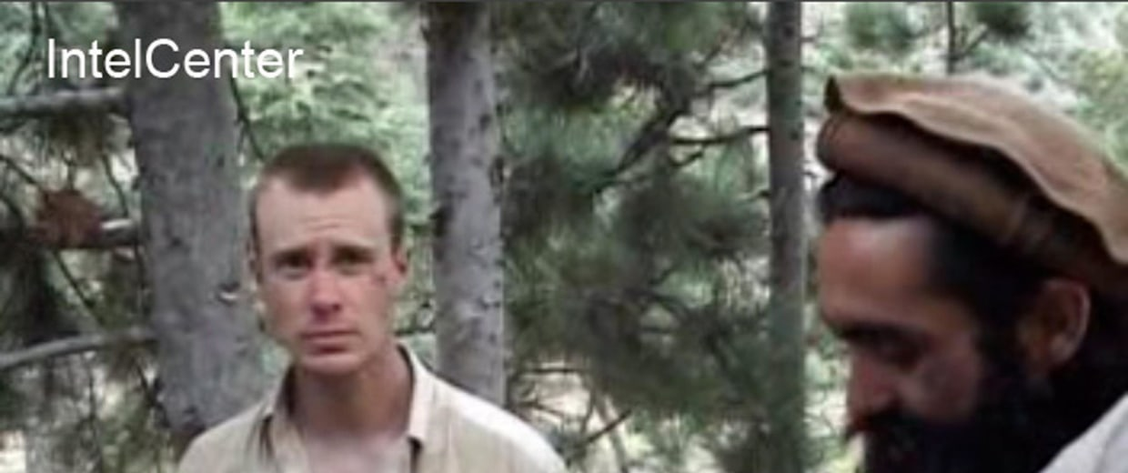 Image: Sgt. Bowe Bergdahl appears in a video released by the Taliban in 2010.