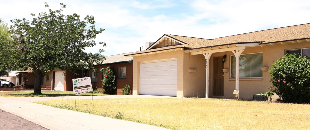 Image: The Phoenix home of former Maricopa County Sheriff's deputy Ramon 'Charley' Armendariz, who died May 8, 2014, is now for rent.