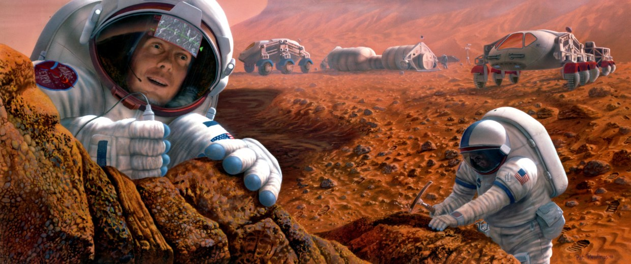 Image: Humans on Mars
