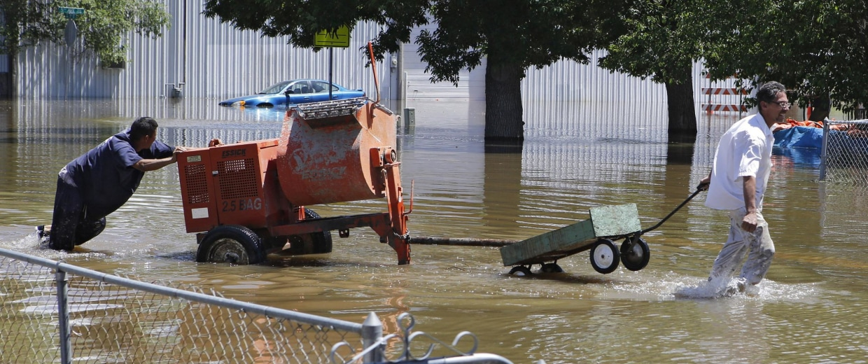 Insurers are testing the waters of suing cities for not preparing for the floods and storm damage caused by climate change.