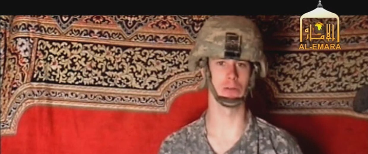Image: A video frame grab from the Taliban propaganda video released Friday Dec. 25, 2009 purportedly showing U.S. soldier Pfc. Bowe Bergdahl, 23, of Ketchum Idaho