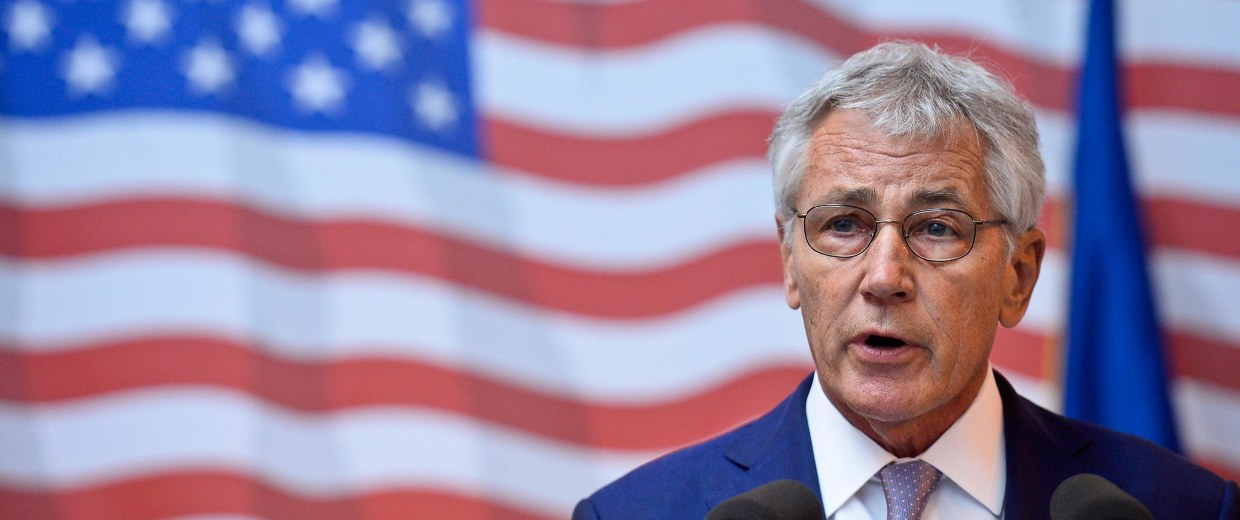 Image: U.S. Secretary of Defense Chuck Hagel