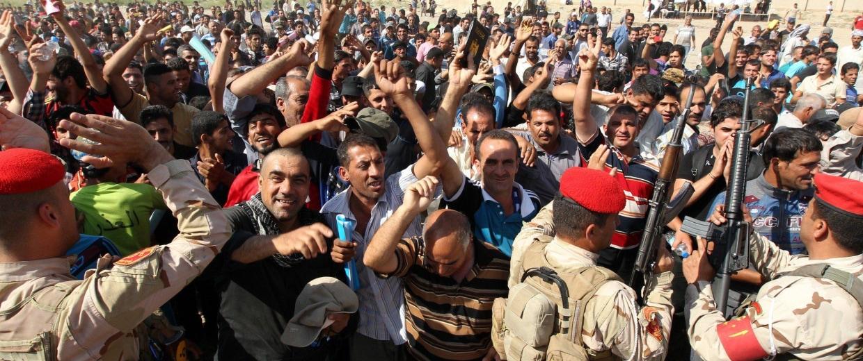 Image: TOPSHOTS-IRAQ-UNREST