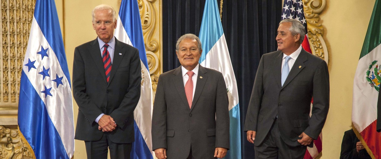 Image: Joe Biden, Salvador Sanchez Ceren, Otto Perez Molina