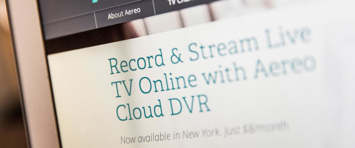 Image: Aereo.com, a web service that provides television shows online