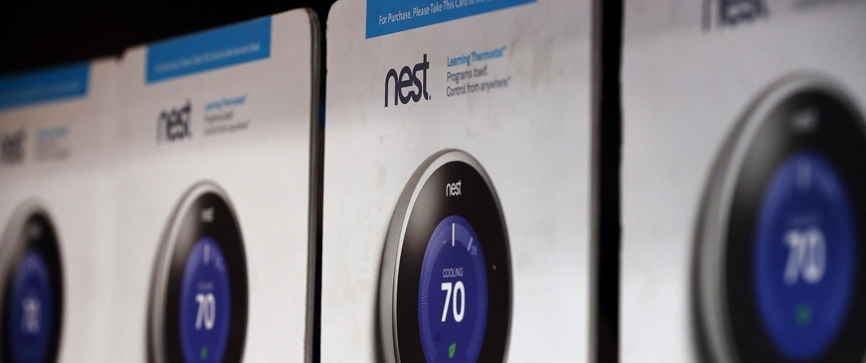 Image: The Nest Learning Thermostat