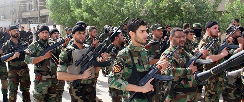 Image: Iraqi Shiite volunteers