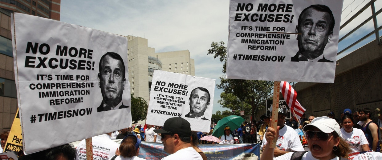 Image: LA May Day Marches Celebrate Workers, Push For Immigration Reform