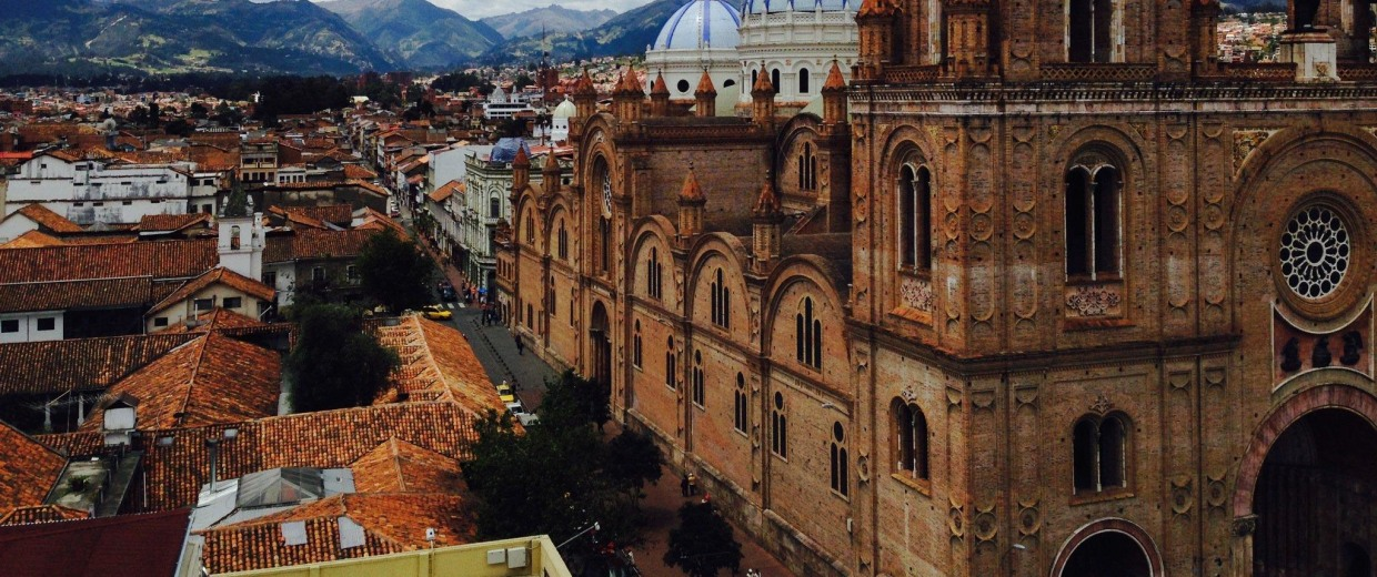 Image: The skyline in Cuenca, Ecuador helps explain why its attracting American retirees.