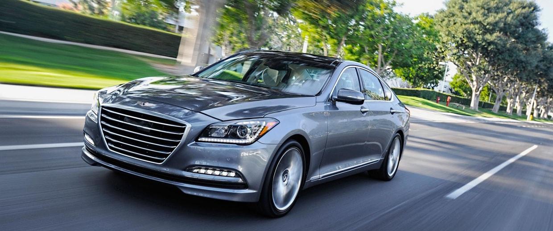 Image: The 2015 Hyundai Genesis