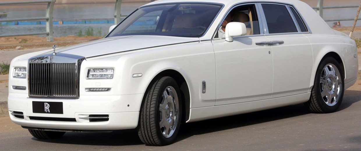 A Rolls-Royce Phantom Series II. More luxury cars like this are being sold as the recession recedes and more millionaires look to spend on status symbols.