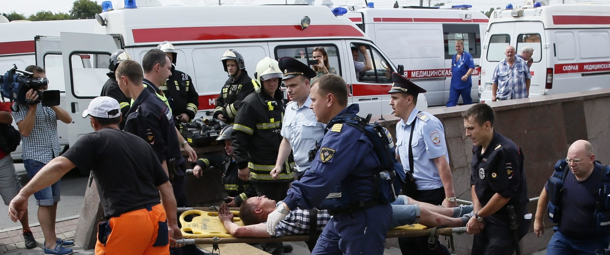 Image: Metro accident in Moscow