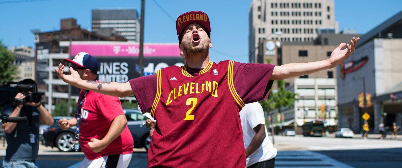 Image: Cleveland Celebrates LeBron James Coming Home