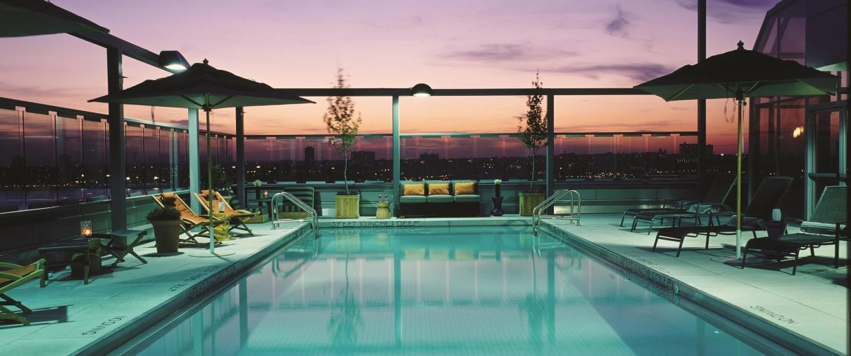 Image: Gansevoort hotel pool