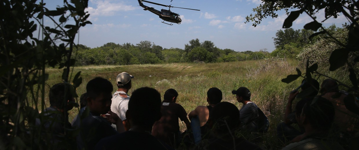 Image: US Customs And Border Security Agents Patrol Texas-Mexico Border