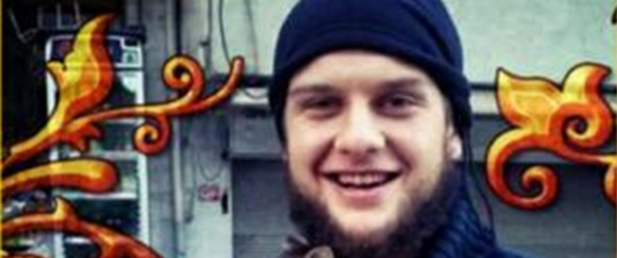 Image: This image tweeted by the al-Nasra Front, an al Qaeda-linked terror group fighting against the Syrian government, purportedly shows an American citizen who died in a suicide bombing Sunday in Idlib Province -- the scene of heavy fighting in recent