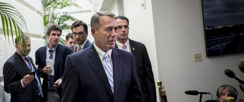 Image: Republicans Scramble on Border Bill