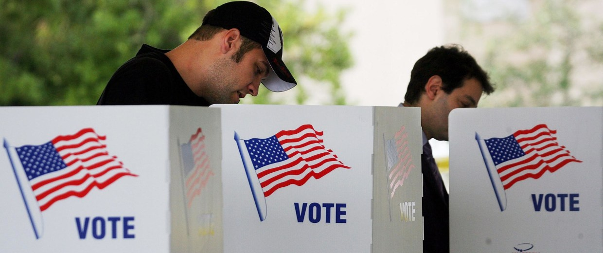 Image: Voters cast their ballots in Palm Beach County, Fla.