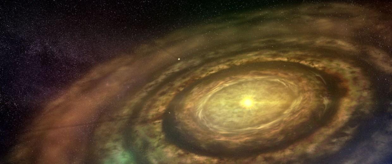 Image: Protoplanetary disc