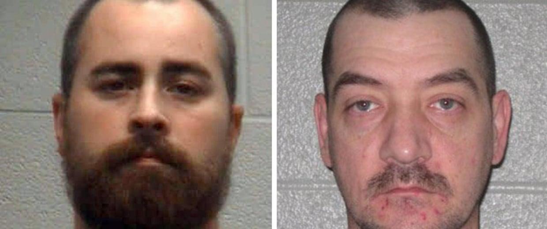 Image: Jason Ryan, left, and Jamie Lee Peterson.