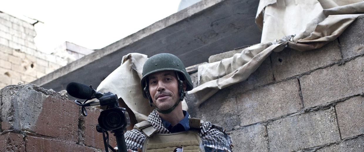 Image: James Foley in November 2012