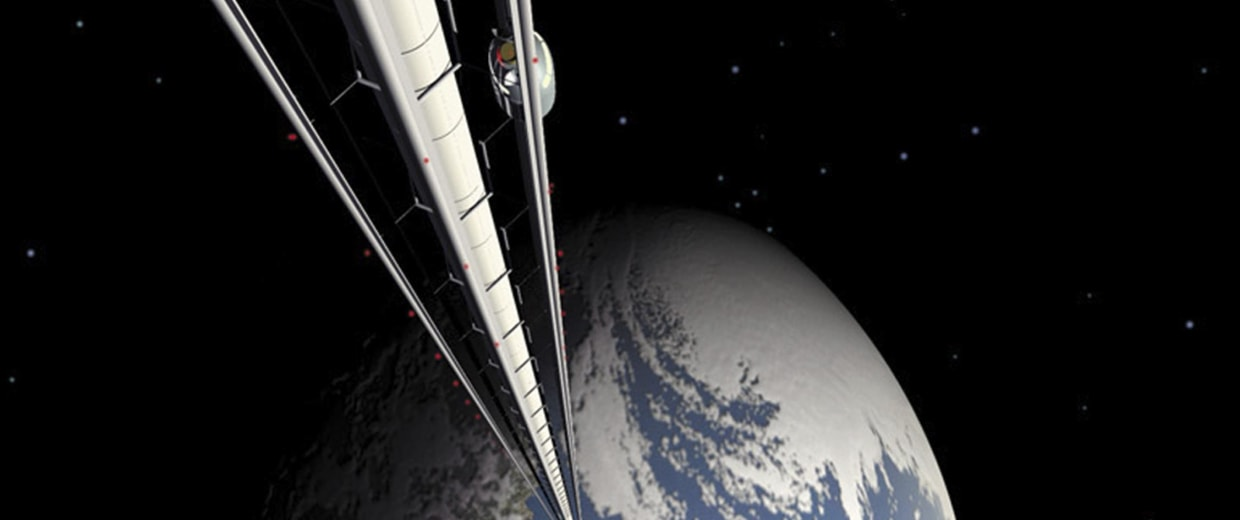 Image: Space elevator